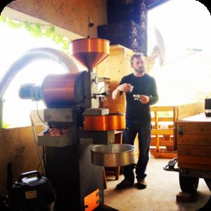 Atelier torréfaction café Montaiguet Aix en Provence