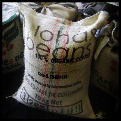 Sac de café de Colombie Excelso Bio et Equitable