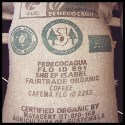 Sac de café du Guatemala
