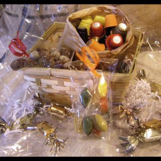 Corbeille de Noël - capsules